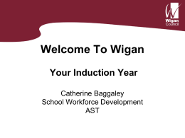 Your Induction Year - Wigan Schools Online
