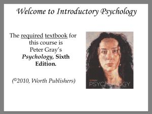 Psychology, Sixth Edition.