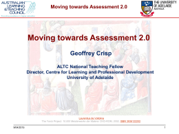 Moving towards Assessment 2.0