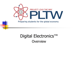 Overview of Digital Electronics