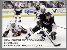 Hip Alignment and Rebalancing Strategies - PHATS