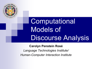 CMU-Statistical Language Modeling & SRILM Toolkits