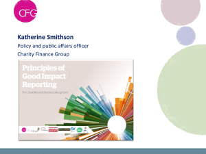 Charity Finance Directors` Group