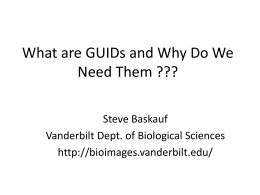 What are GUIDs and Why Do We Need Them ???