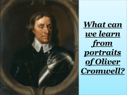 What can we learn from portraits of Oliver Cromwell?