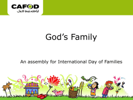 God`s Family assembly
