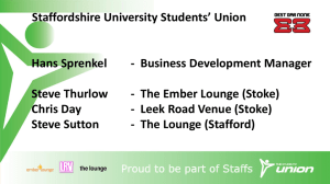 the slides from Staffordshire University