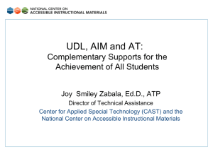 Session PowerPoint - National Center on Accessible Instructional