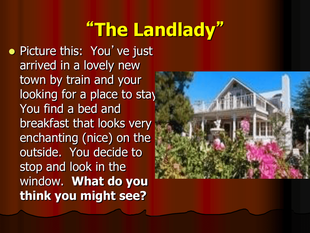 the landlady montgomery county schools