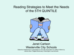 readingstrategiesfor5th quintile