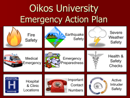 ppt - Oikos University