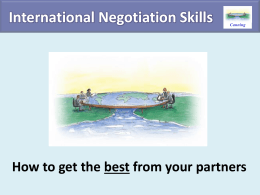 The Negotiations slide set