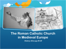 CatholicChurchMedieval