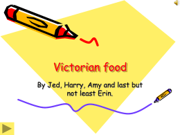 Victorian food by jehamy