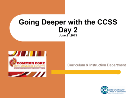 Day2_Going_Deeper_with_the_CCSS