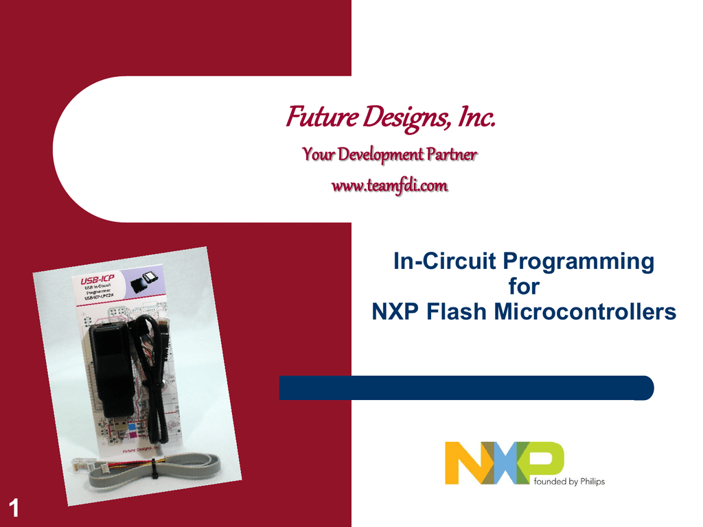 In Circuit Programming For Nxp Flash Microcontrollers Usbpowered Pic Programmer Schematic