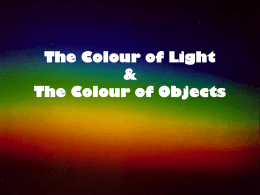 Colour Theory of Light