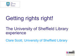 Getting Rights Right - University of Sheffield