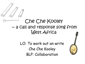 Che Che Kooley - Teaching Channel