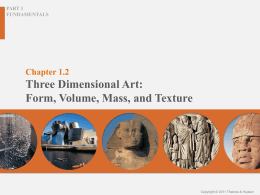 Chapter 1.2 Gateways to Art: Understanding the Visual Arts By