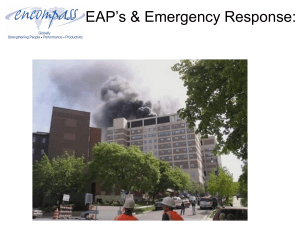 EAP`s & Emergency Responses Ten Things You Need to Do
