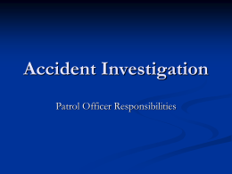 Accident Investigation PowerPoint