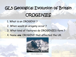 Geological starter orogenies