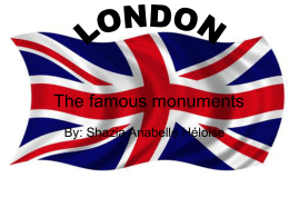 The famous monuments