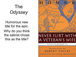 divine intervention in the odyssey