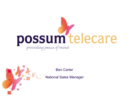 Who are Possum? - Wessex Innovation Resources