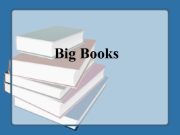 Big Books - E-Learning Portal