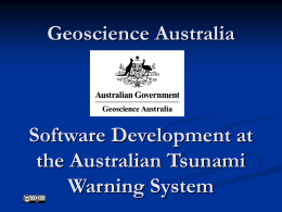 Software/Systems Development at the Australian