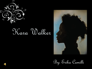 Kara Walker PowerPoint