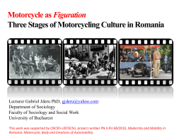 Three Stages of Motorcycling Culture in Romania