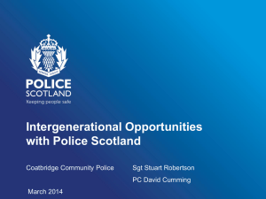 Police Scotland - Generations Working Together