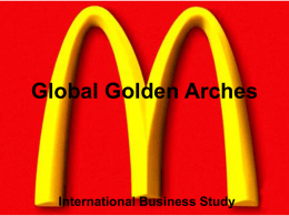 Global Golden Arches