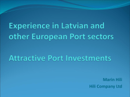 To view the presentation of Marin Hili