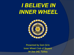 Slayt 1 - International Inner Wheel