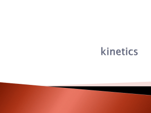 Kinetics Powerpoint