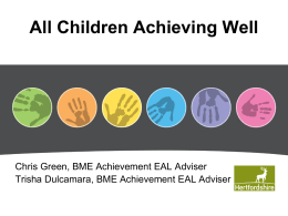 all_children_achieving_well - Hertfordshire Grid for Learning