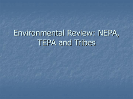 Environmental Review - The Leadership Series