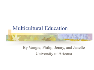 Multicultural Education - U-System