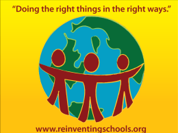 BET-Goal-4 - Re-Inventing Schools Coalition