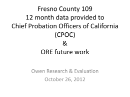 Owen Research & Evaluation
