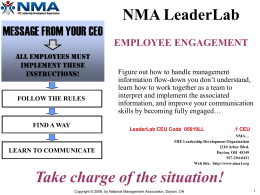 Employee Engagement Powerpoint