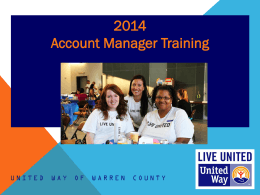 Account Manager Training Powerpoint Presentation