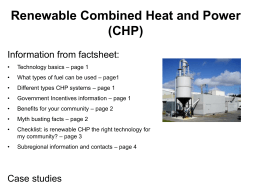 7. Renewable CHP slides