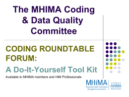 Coding Roundtable Do-It