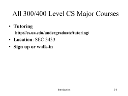 Language and IDE - CS351 Main Page