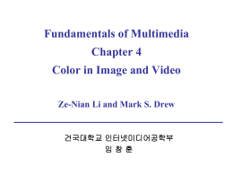 Chapter 4. Color in image and video